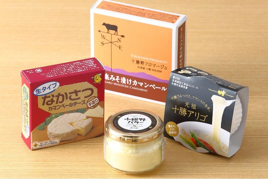 十勝野フロマージュ バター・チーズセットA