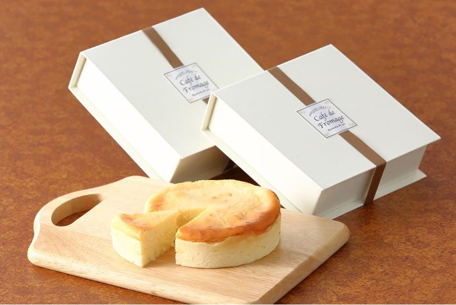 十勝野フロマージュ カマンベールチーズケーキ 2個