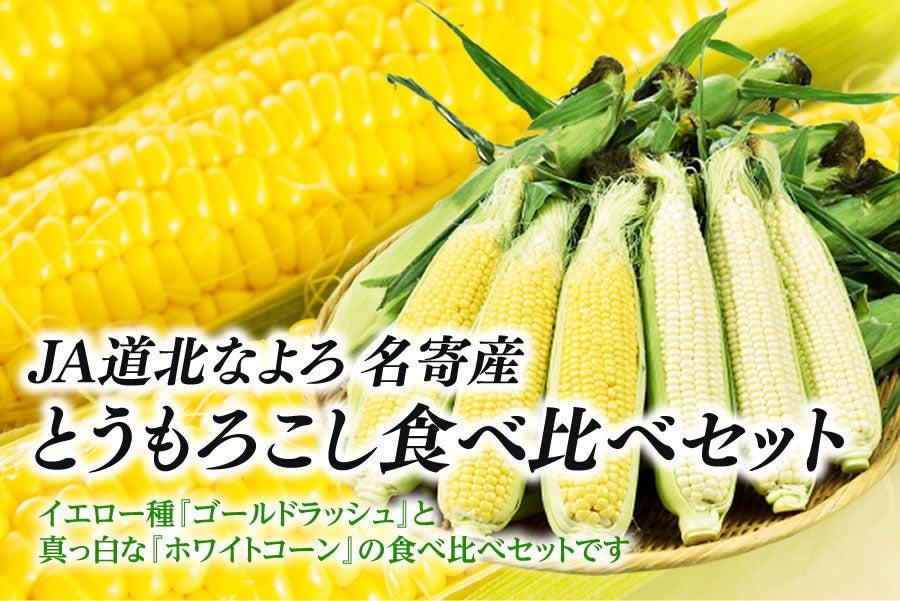名寄産 とうもろこし食べ比べセット 各5本 8月下旬~発送