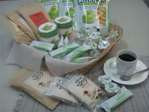 ラ・フランス デザート&天童コーヒーセット