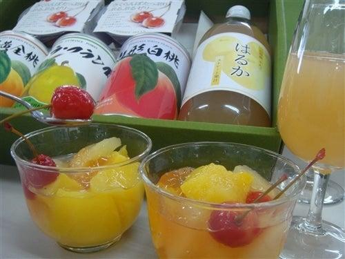 山形のフルーツの森ギフトセット(はるかジュースと缶詰とさくらんぼゼリー)