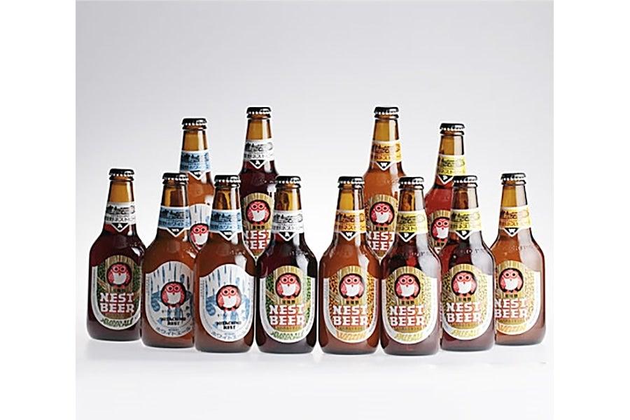 『世界に誇る!』常陸野ネストビール 12本飲み比べセット