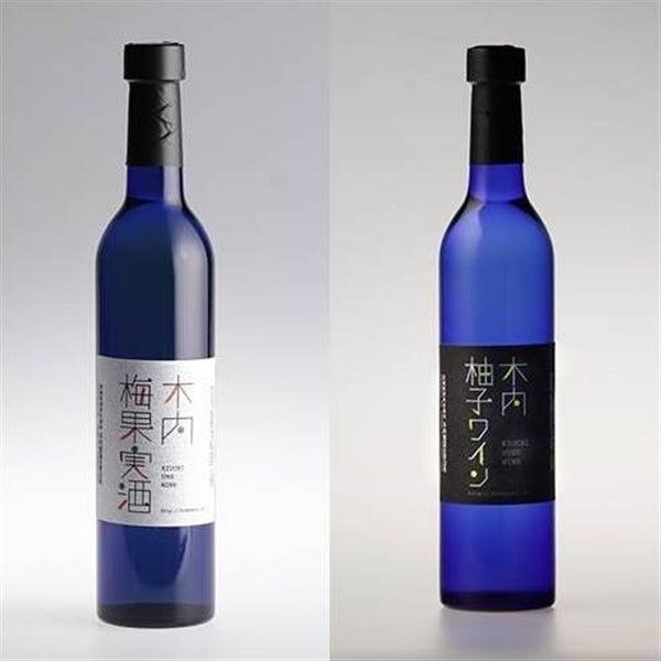 『木内酒造』梅果実酒・柚子ワイン飲み比べセット