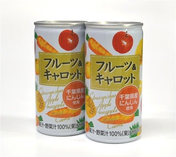 フルーツ&キャロットジュース (190g×30缶×2箱)