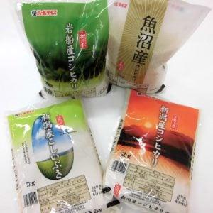新潟米食べ比べセット 2kg×4種 クリスマス