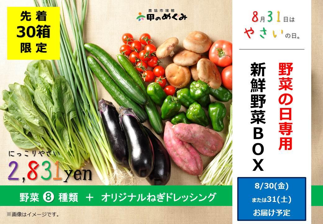 8種類の野菜セット