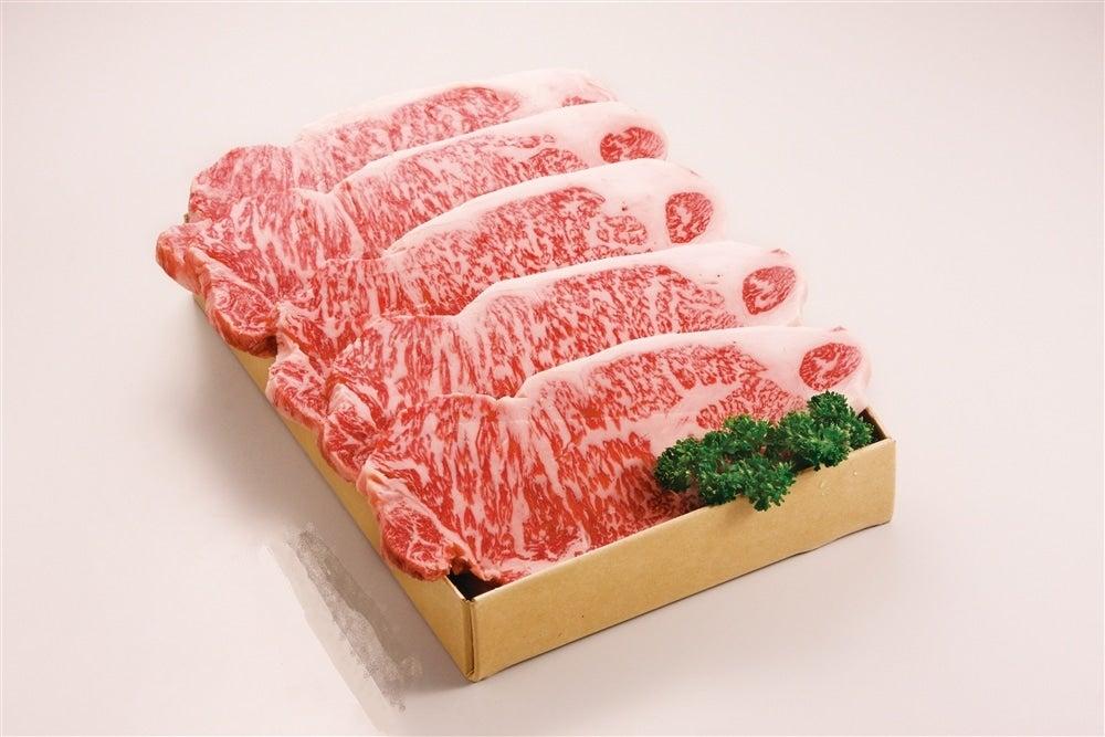 <産地直送JAタウン> おかやま和牛肉 ロースステーキ(5枚入)画像