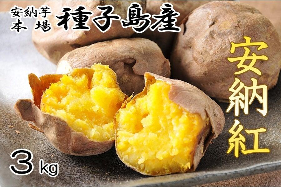 <産地直送JAタウン> 毎年大好評☆JA種子屋久産 安納紅(安納芋)   約3kg