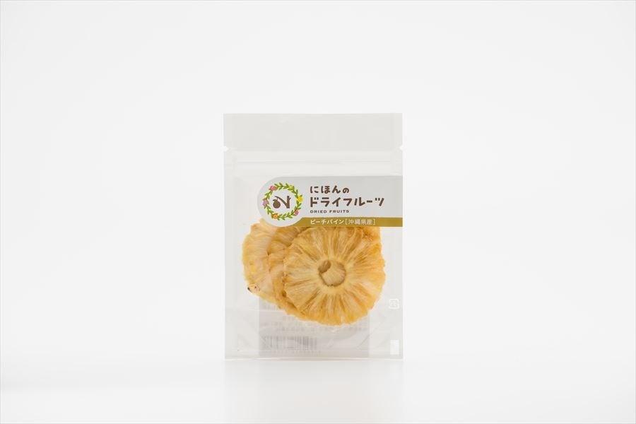 『ピーチパイン~にほんのドライフルーツ』 (パイナップル) 25g×1パック