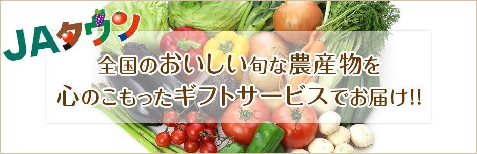 JAタウン 全国のおいしい旬な農産物を心のこもったギフトサービスでお届け!!